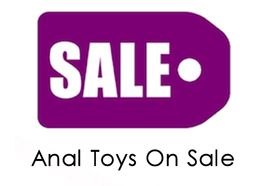 On Sale Anal Toys Product Listing Page
