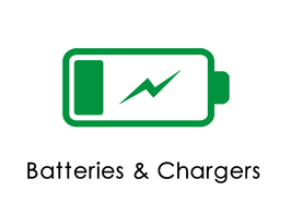 Batteries & Chargers Sub Category Page