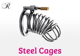 Steel Chastity Cages