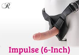 Impulse Strap-Ons (6-Inch)