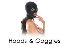 Hoods and Goggles Bondage Sub Category Page
